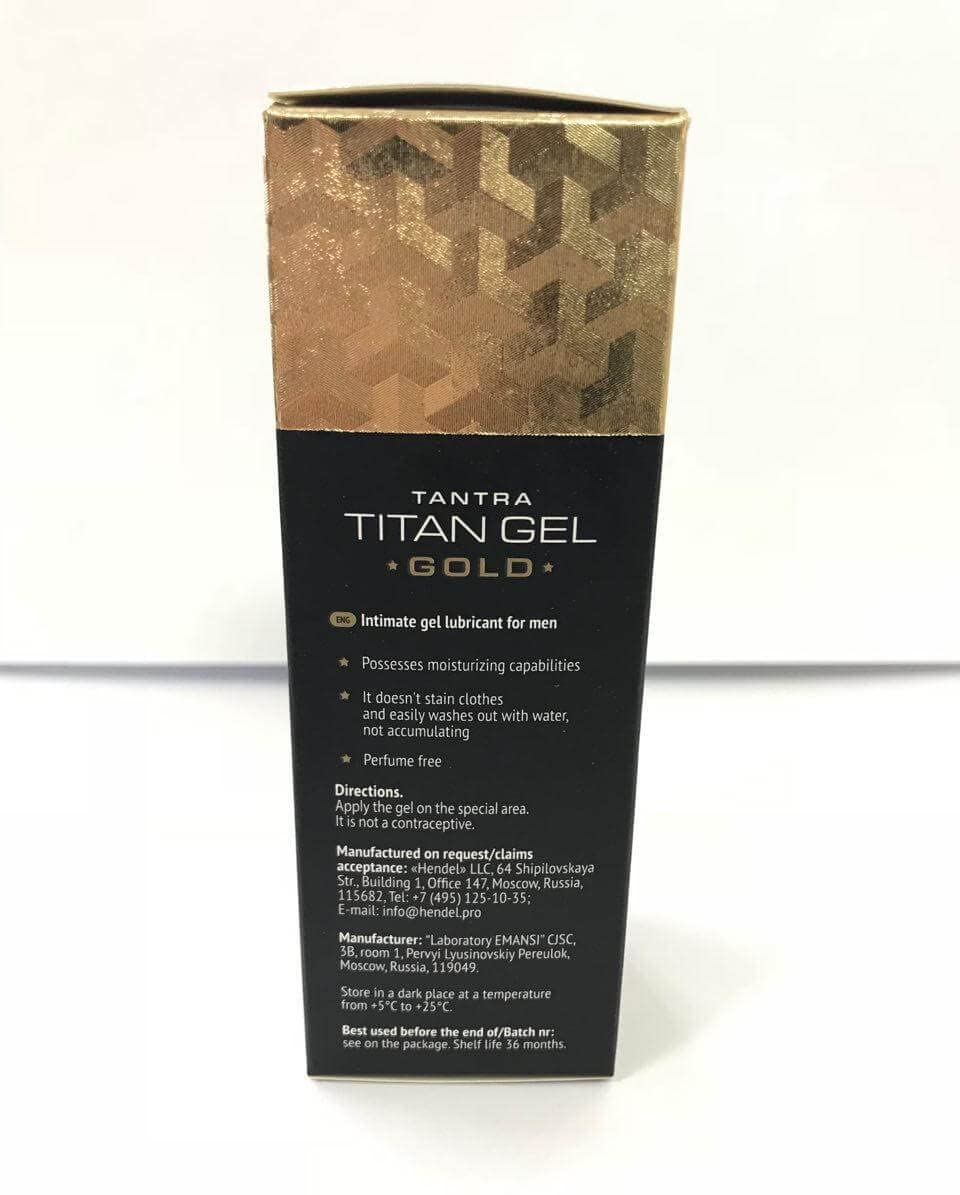 Titan Gel Premium Gold - Amazon - prix - forum