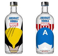 Absolut vodka - bouteille - 70cl - marvel