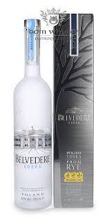 Belvedere vodka - prix - origine - 1l