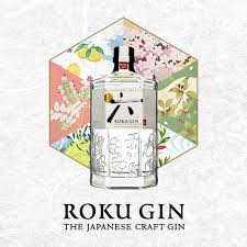 roku gin - coctails - composition