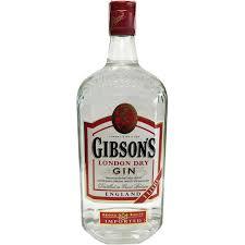 gin gibson - avis - bouteille de