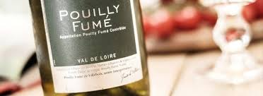 pouilly fumé - accord - carte