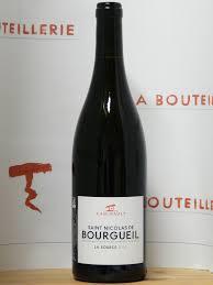 saint nicolas de bourgueil - aoc - cépage
