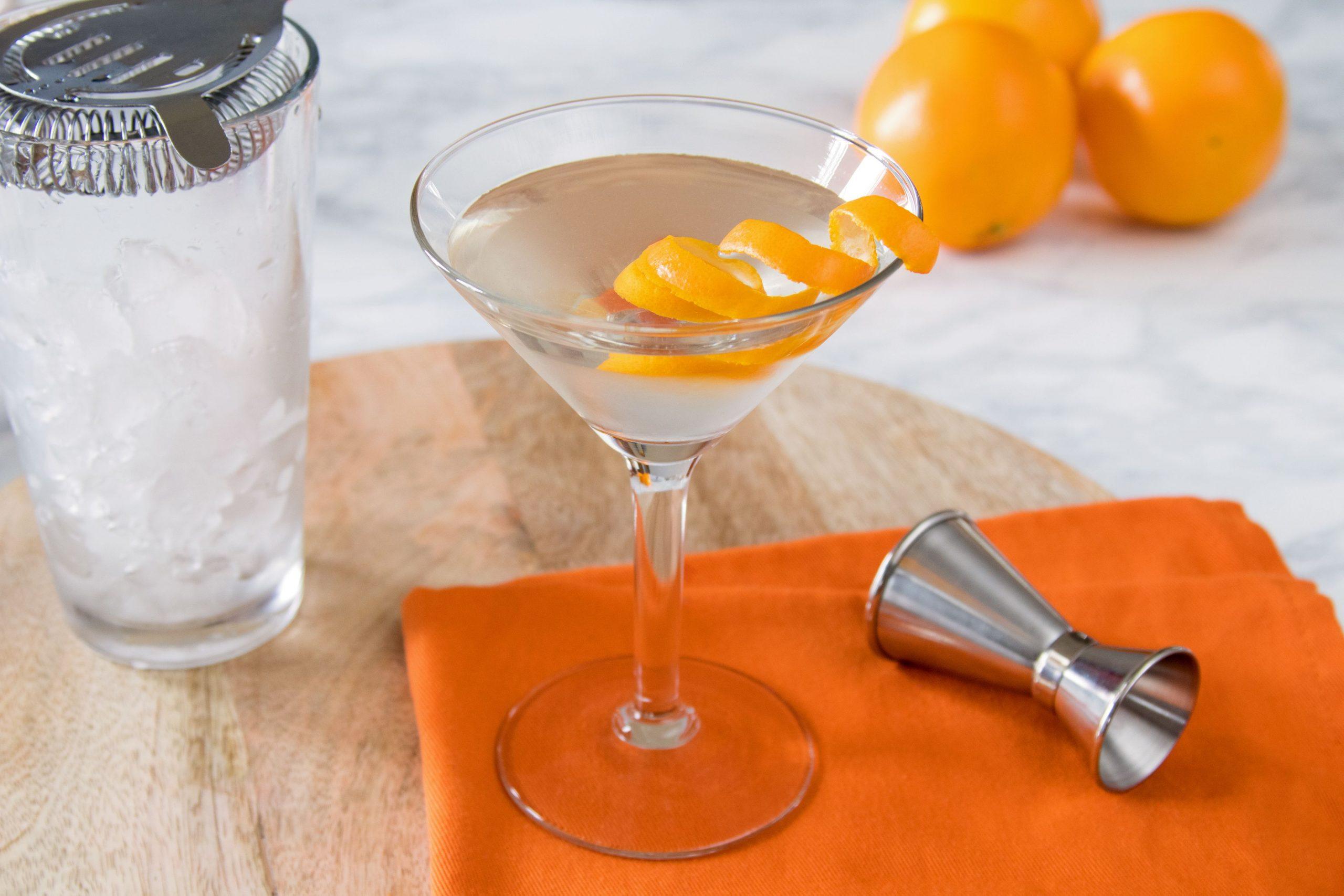 Recette cocktail a base vodka – redbull– orange– martini